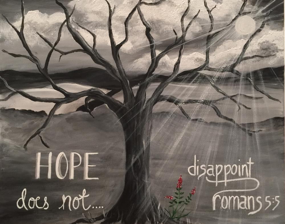 Hope Does Not Disappoint  | Kim Goss Art