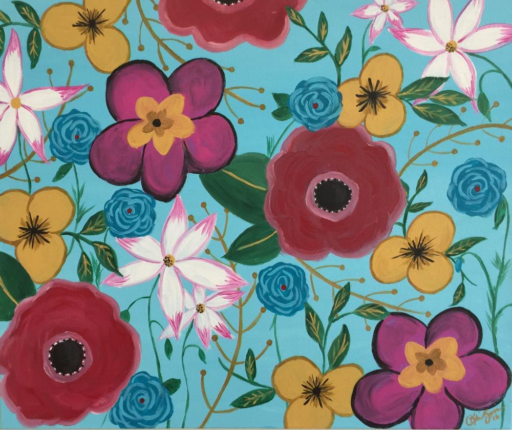 Floral pattern   Kim Goss Art