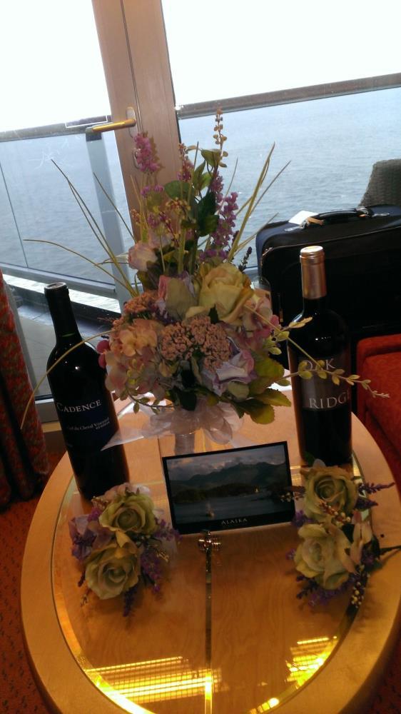 Wedding Bouquet at Sea |
