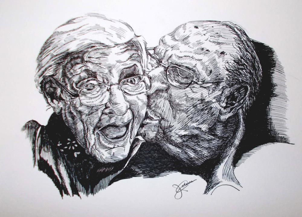 Give Me a Kiss Baby | corkyjim ArtWork