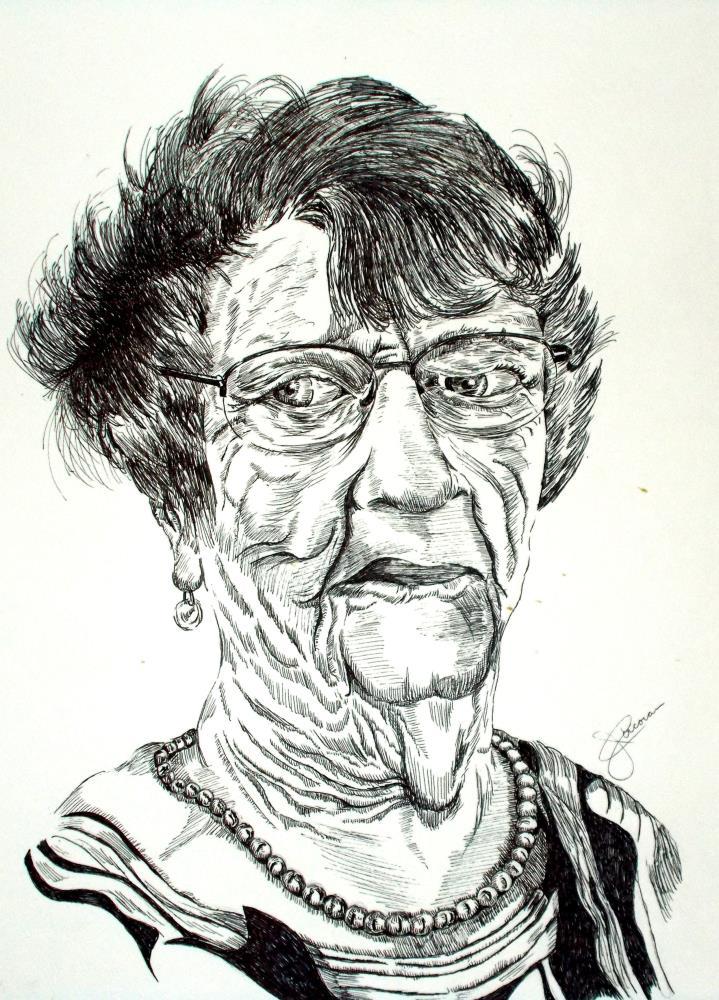 Mrs. Fritz | corkyjim ArtWork