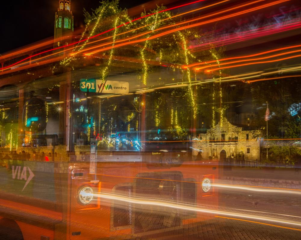 Alamo Via Streetcar | Michael Tidwell Photograp...