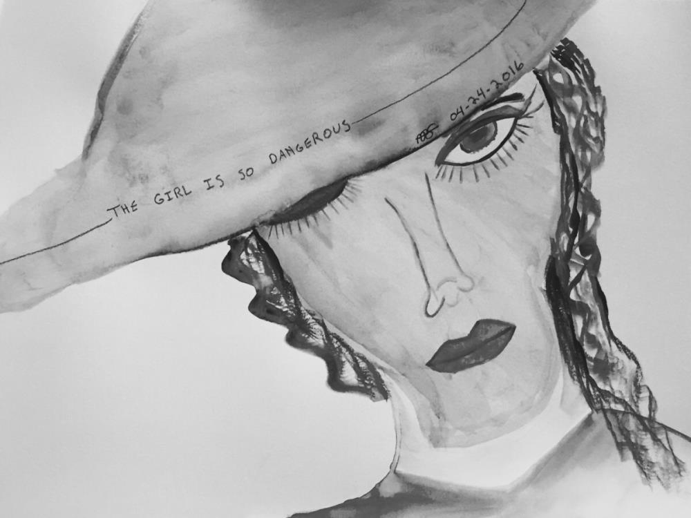 The Girl Is So Dangerous-...   Vesseled Fire Art