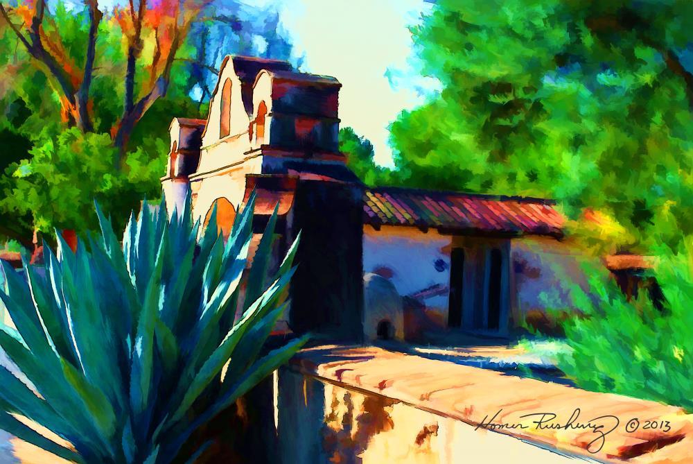 Court Yard Gate | RUSHING SERVICES ARTWORK ...