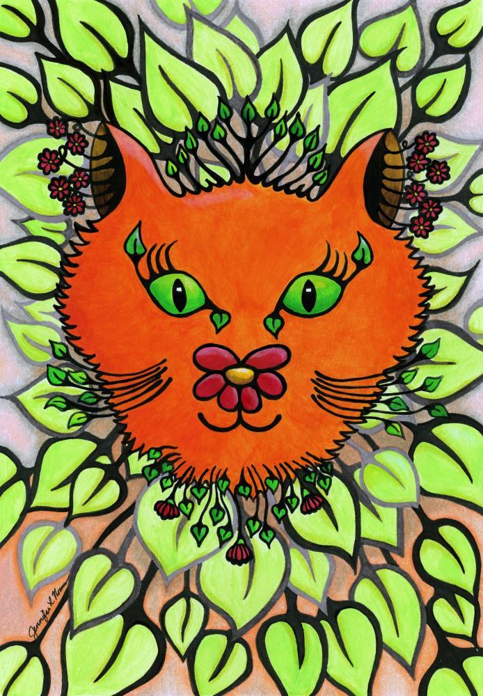 Orange Cat | Jennifer L. Norman - Arti...