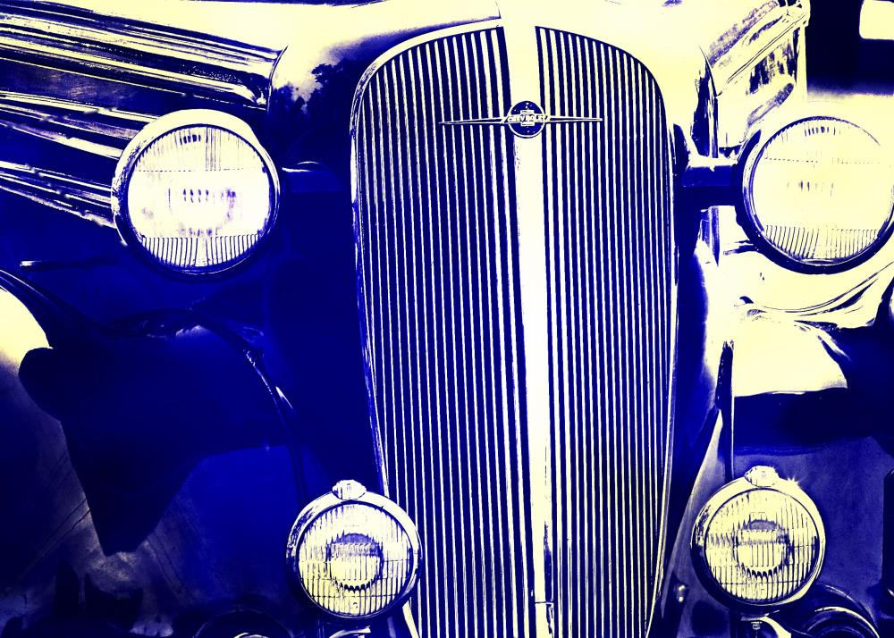 Cobalt Antique Car |