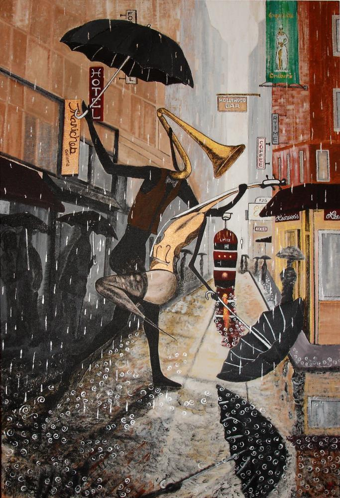 The Rain Dance | Art by Leecasso
