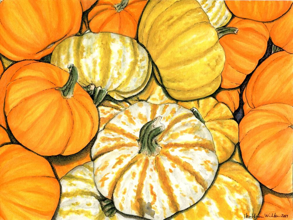 pumpkins | Heather Wilburn Art