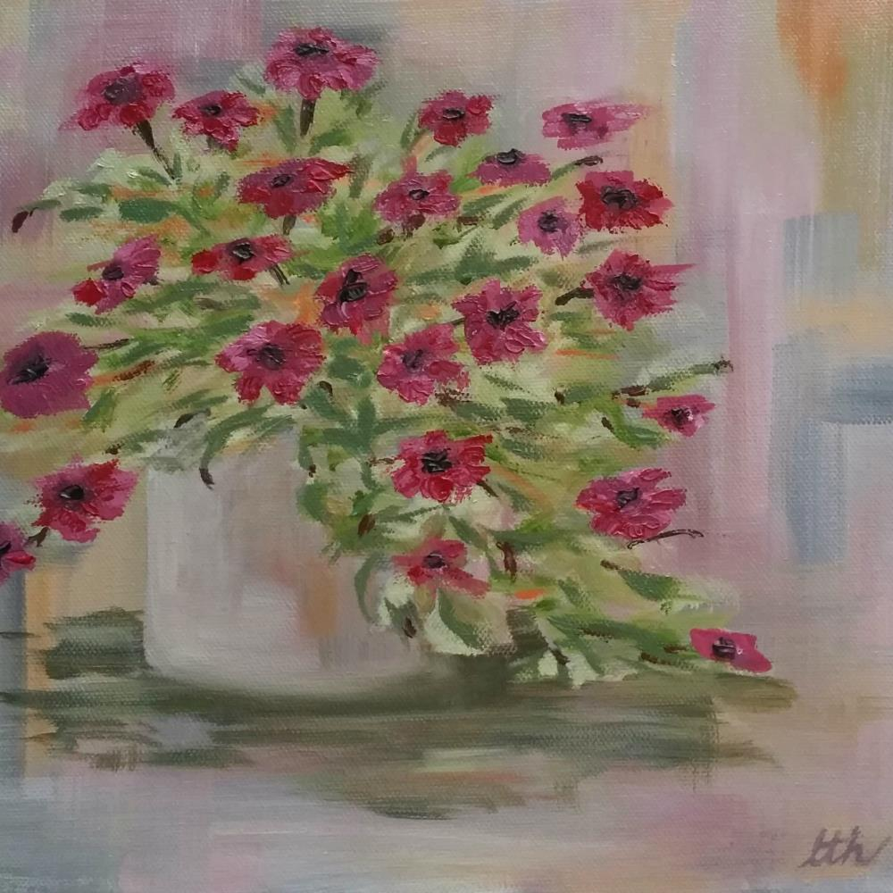 Petunias   Laurie Henry Fine Art