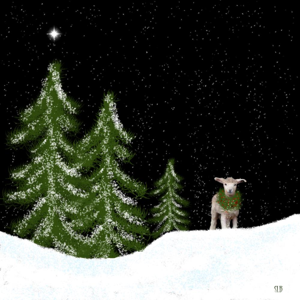CHRISTMAS STAR | Art by Suzie Barr