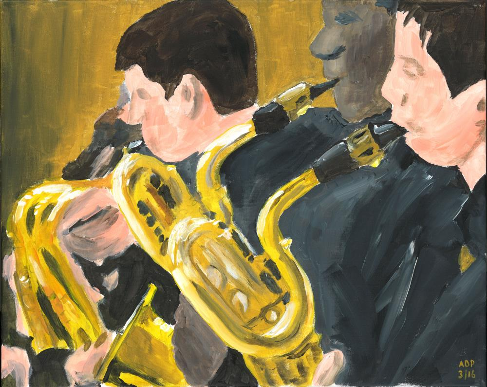 Saxophone Section |