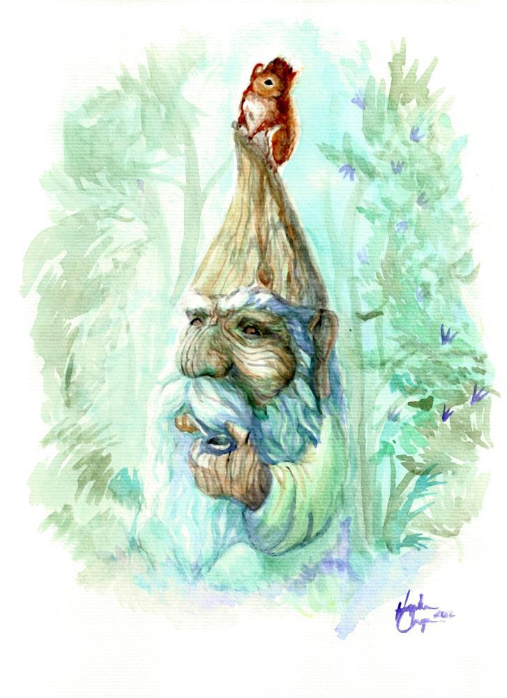 Garden Gnome | A Collection of my Artwor...