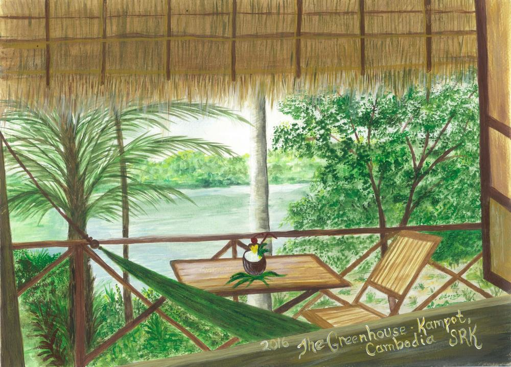 The Greenhouse, Kampot, C... | heARTexpressionsbySRK