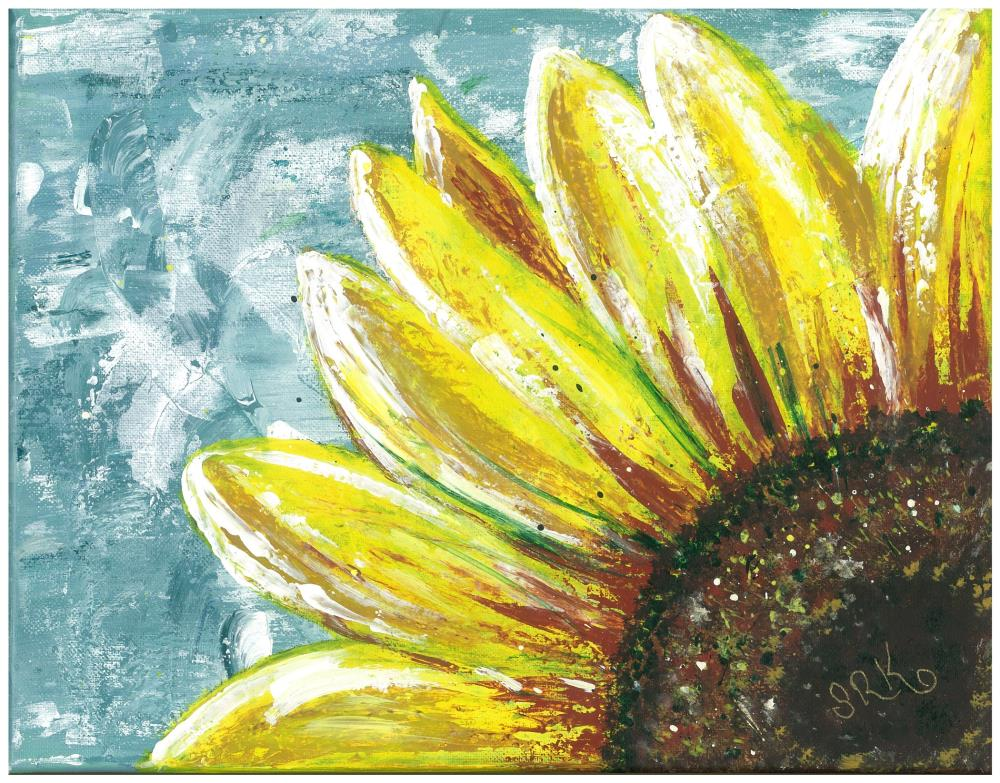 Blooming Sunshine | heARTexpressionsbySRK
