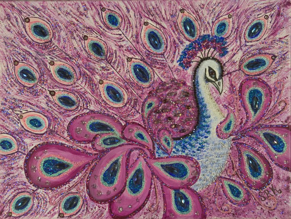 Proud Peacock  | heARTexpressionsbySRK