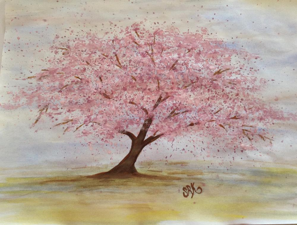 Pink Cherry Blossoms  | heARTexpressionsbySRK