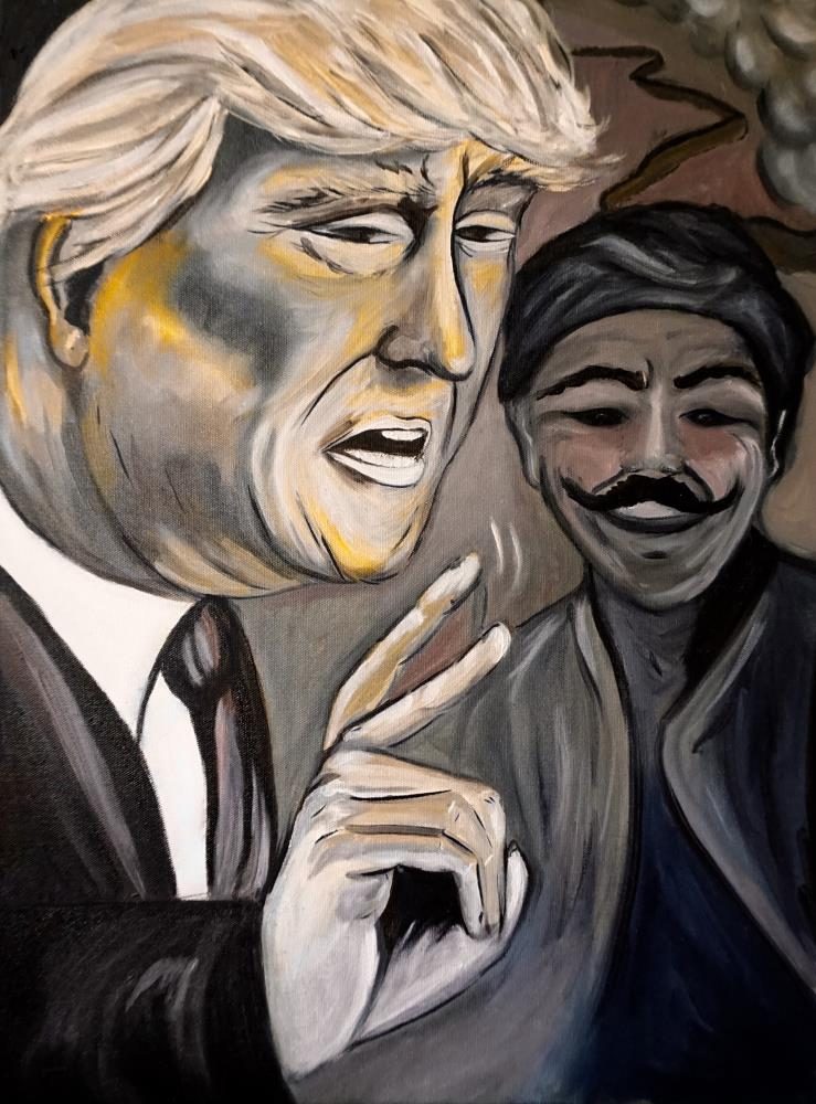 Donald Trump | LonnyLeeArt