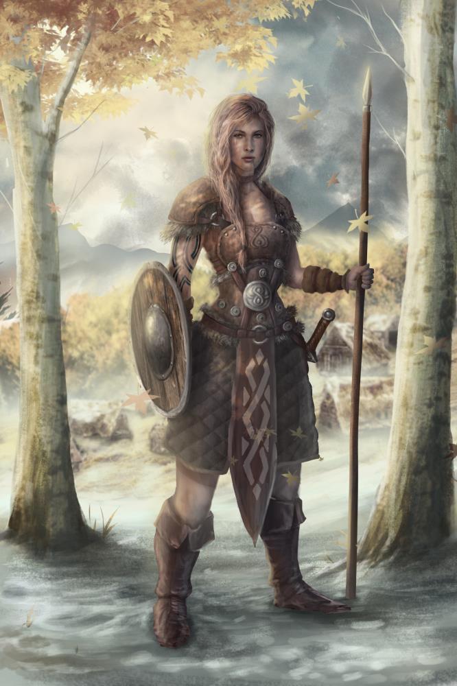 Silva - The Spearwoman |