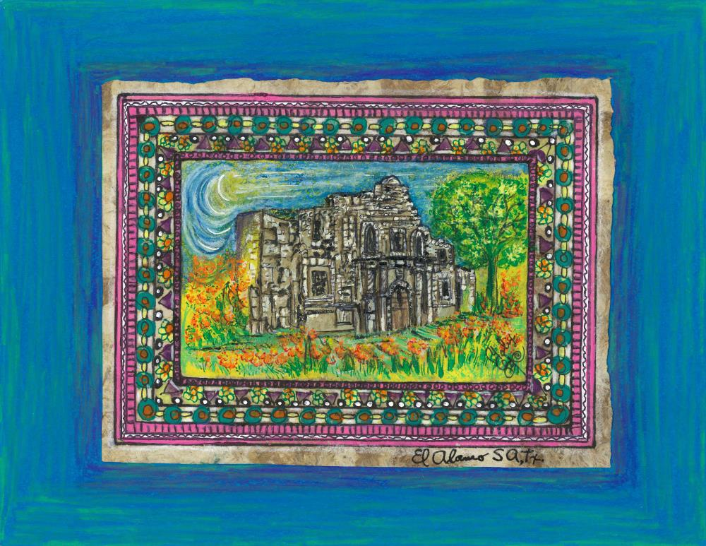 Mission Alamo | Original Art Work