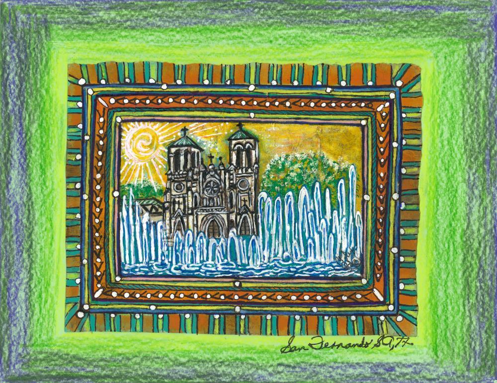 Mission San Fernando  | Original Art Work