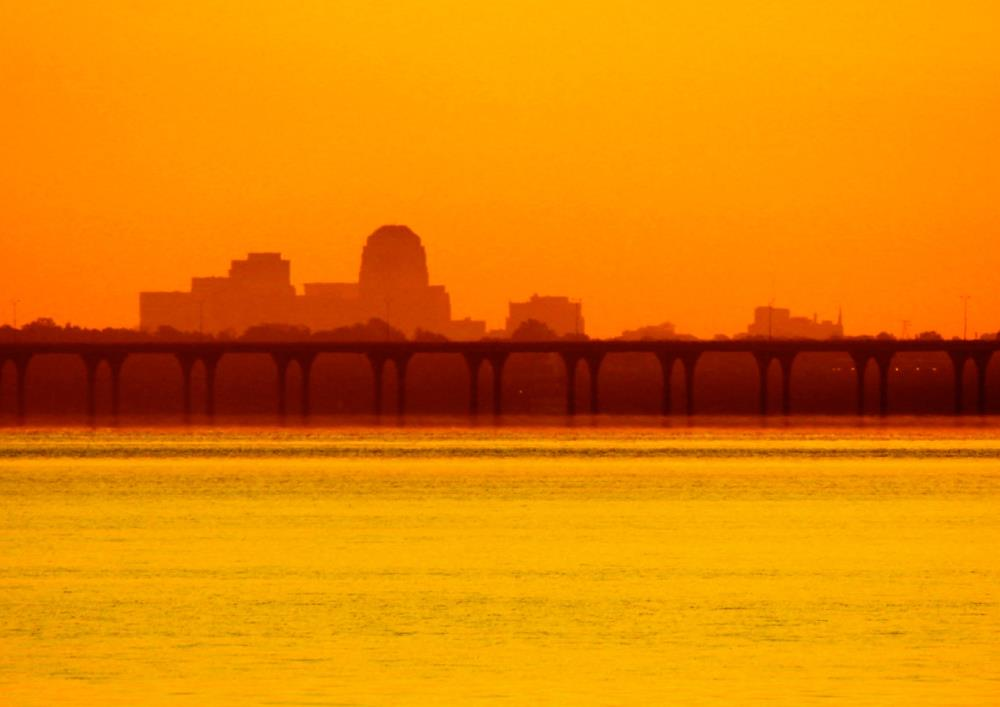 Shreveport at Sunrise | Photo Synthesis
