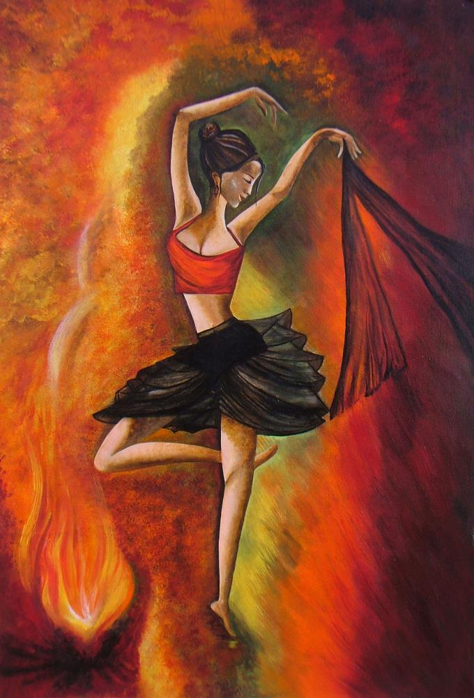 Sizzling Dance | Paintings , Prints,  and ...