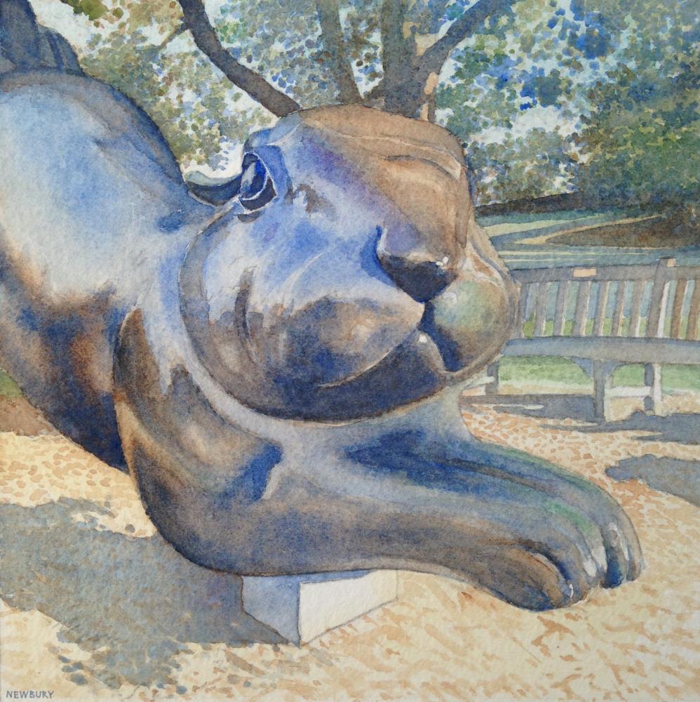The Runaway Bunny | Paintings: Traditional Wa...
