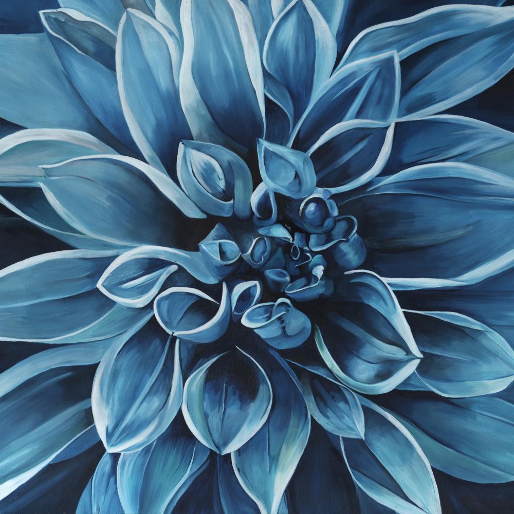Blue Dahlia | Kerry Stafford