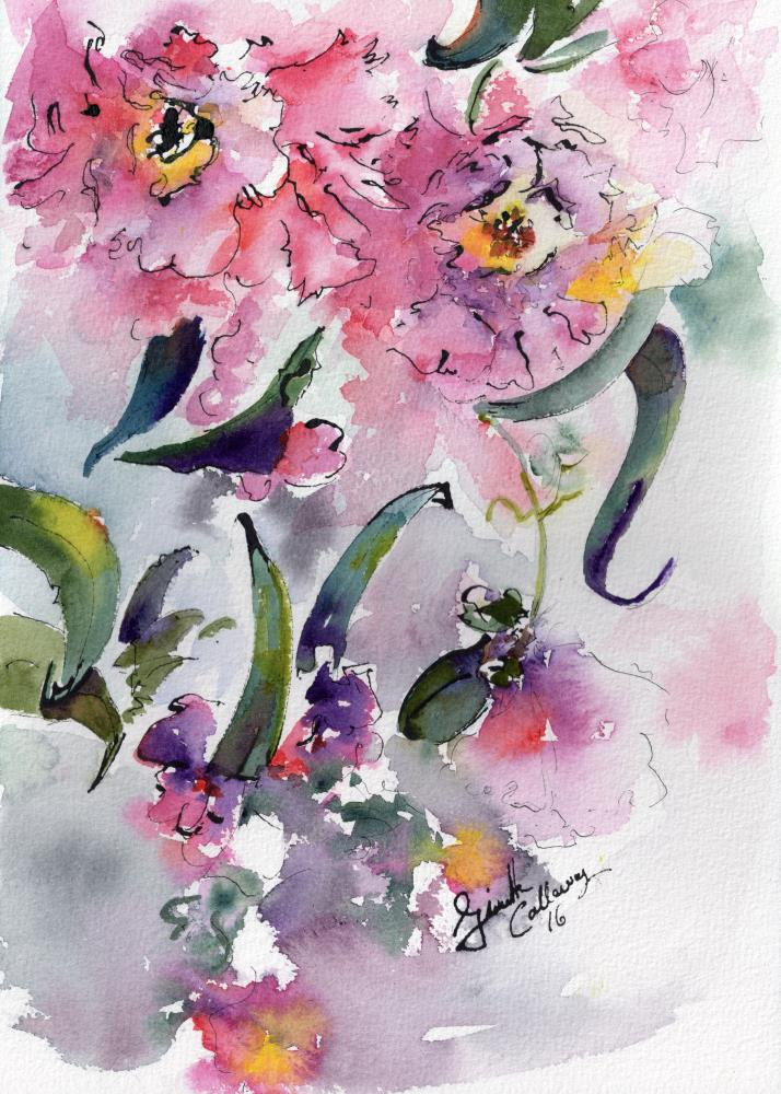 Camellia Alabama State Fl...   Ginette Fine Art