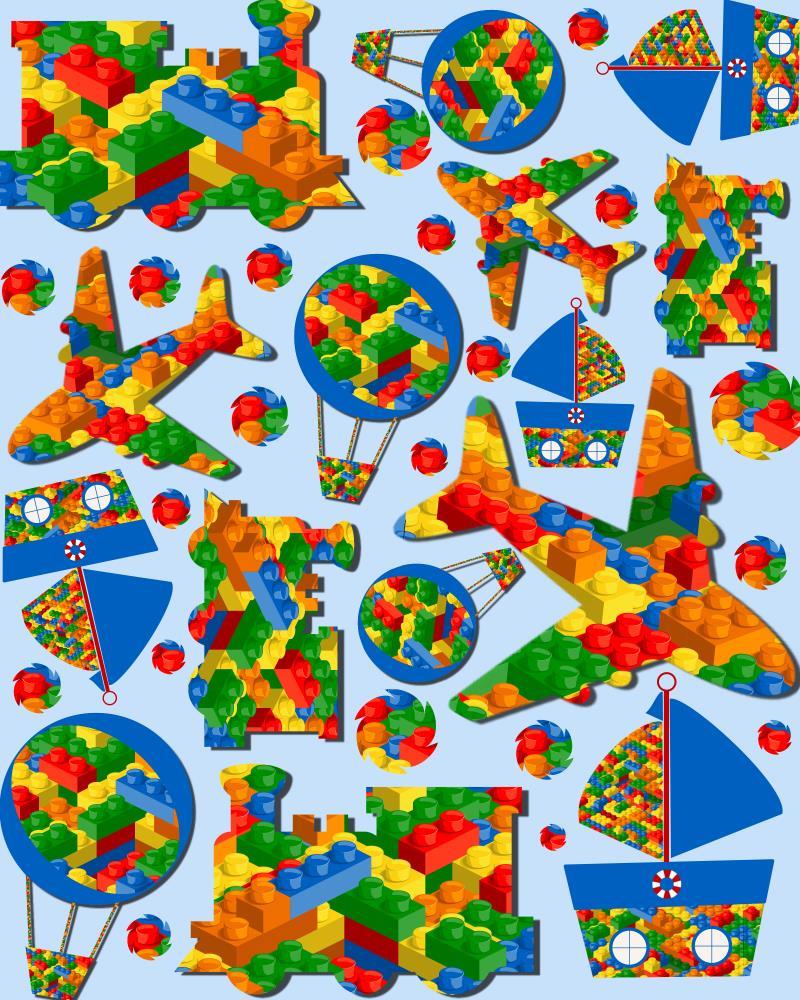 Lego Transport Fun | Kangaroo Kids Designs