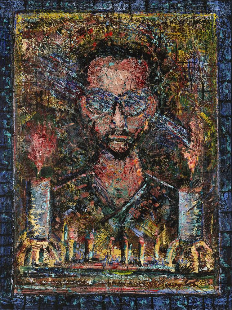 Gazing at the Past | William Poe, artist and w...