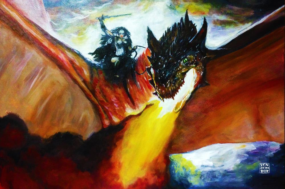 Dragon Rider    Vonzombie Gallery