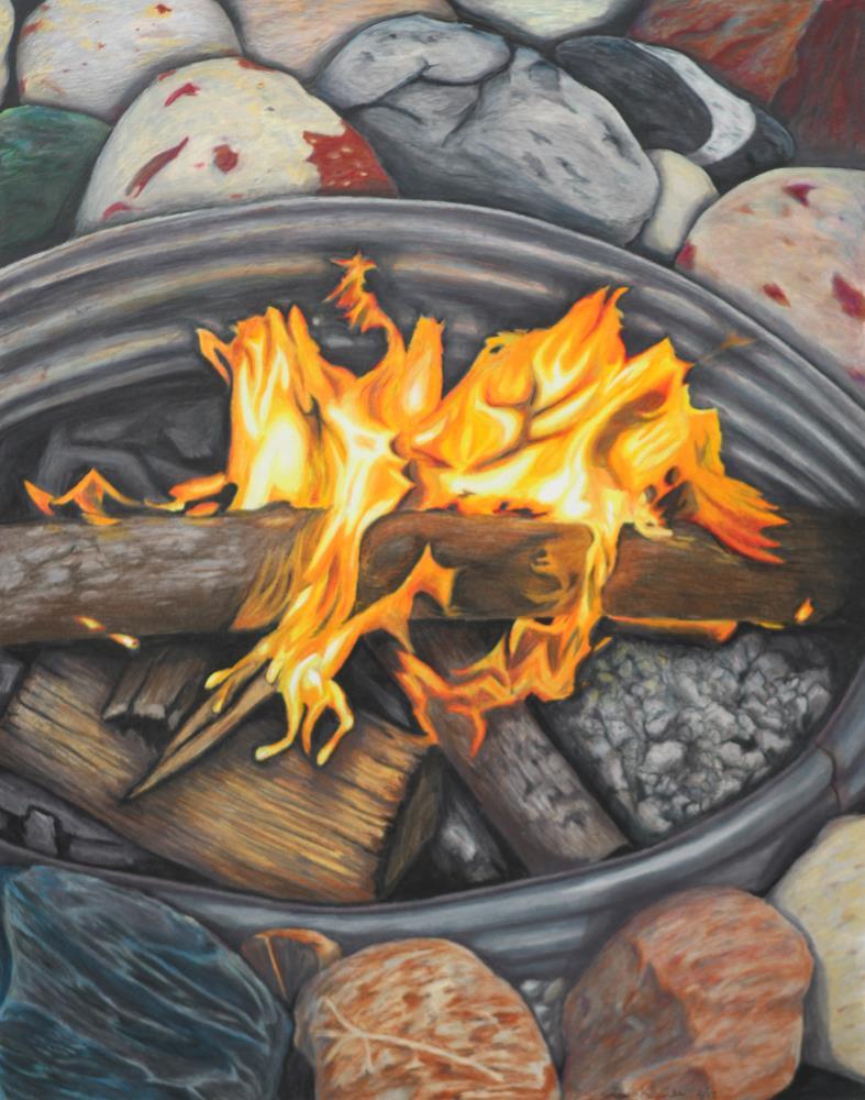 Dancing Flames | Art of Jacob Kuznicki