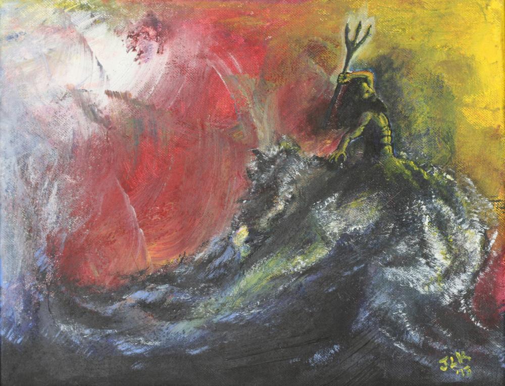 Rising   Art of Jacob Kuznicki