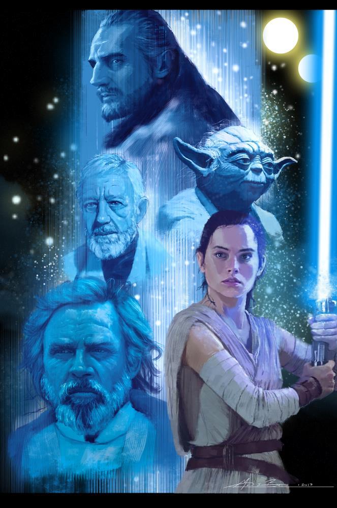 Star Wars: A Masters Lega...   Micah Brown Illustrations