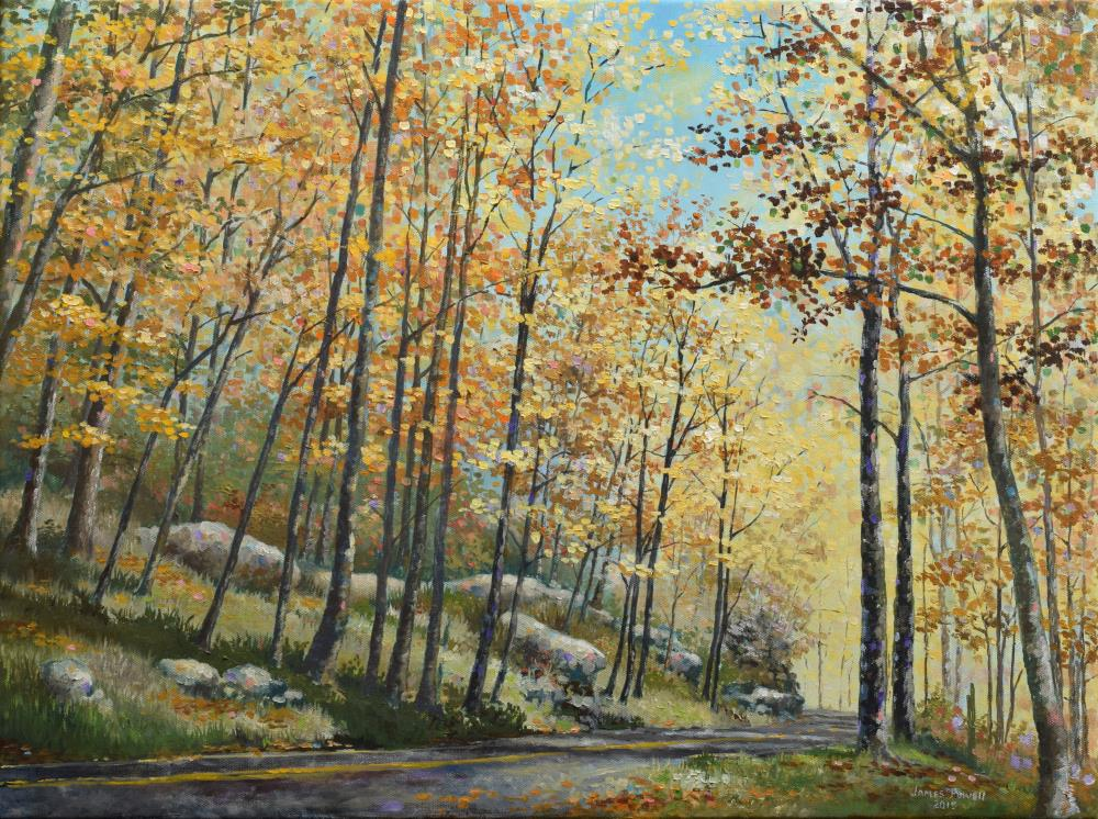 Autumn Radiance | James Powell Oil Painting...
