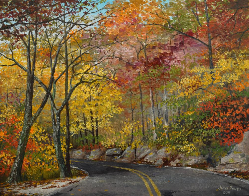 Monte Sano | James Powell Oil Painting...