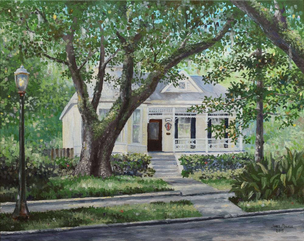 OldOakTreeinMobile | James Powell Oil Painting...