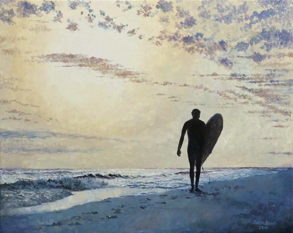 Surf Was Up | James Powell Oil Painting...