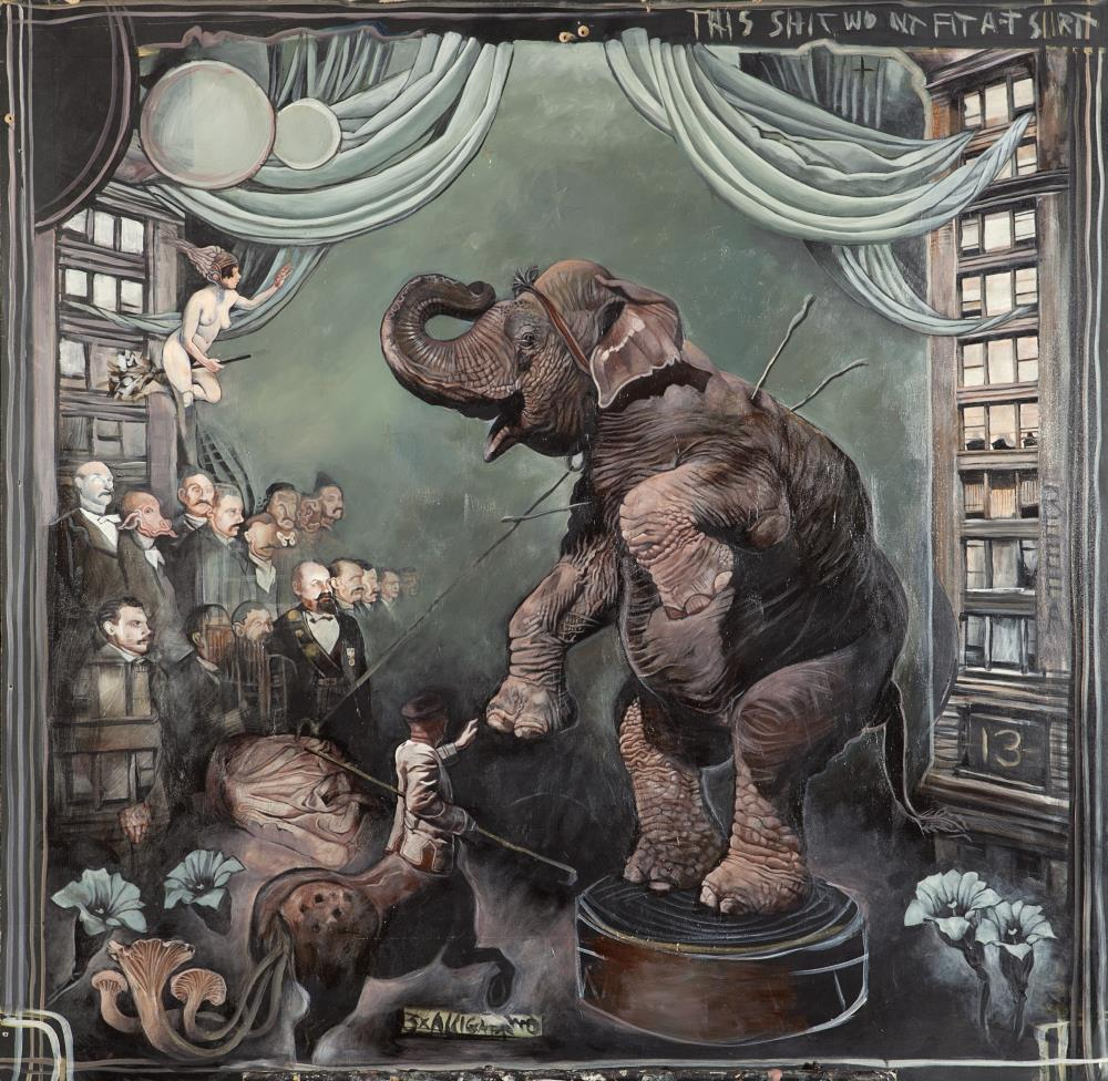 elephant | ARTWORK BY ALEX REISFAR