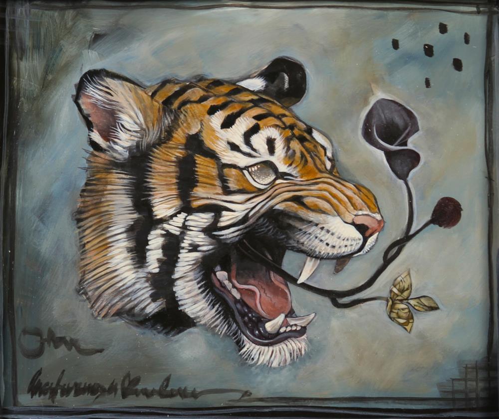 tigerhead | ARTWORK BY ALEX REISFAR