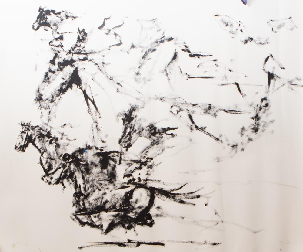 HorseStudyNo.841   The Art of J. P. Hutson