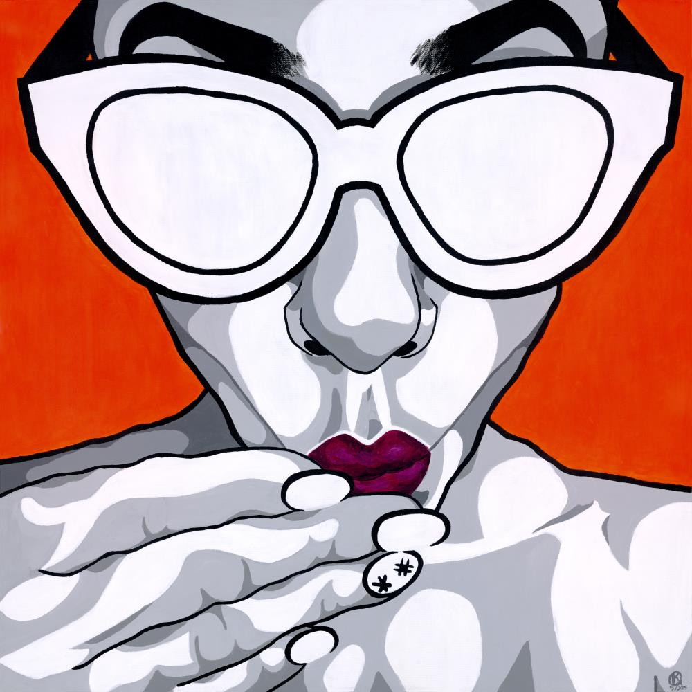 Lady in Orange | kokafor