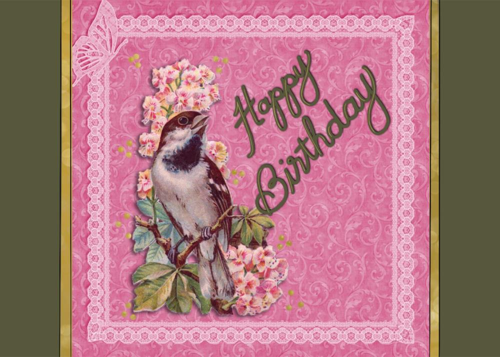 Birthday Bird | Harmony Design by Inventi...