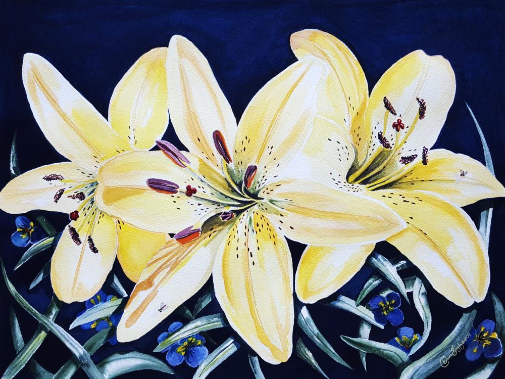 Gardener's Delight Yellow...   Resurgent Art LLC