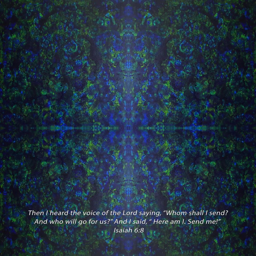 Here I am send me - Isaia... | Resurgent Art LLC