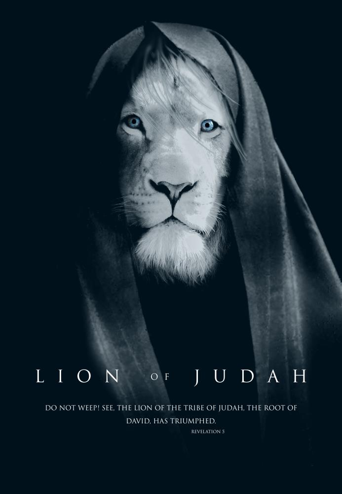 Lion of Judah Monochromat... |