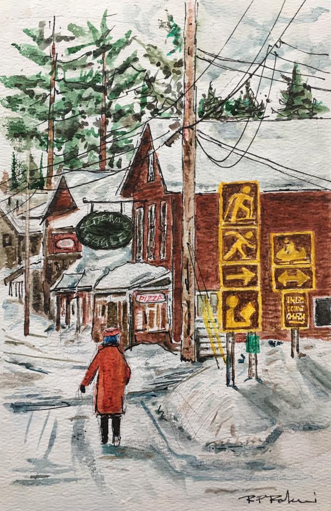NYS28atInlet | RP Rakowski Watercolors