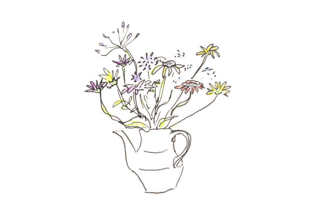 Flowerpot | Art by Emily Cooper