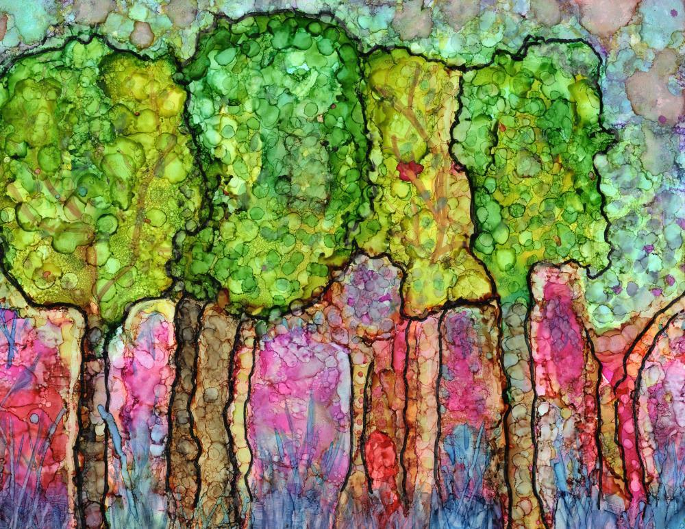 Magical Forest   Not An Artist